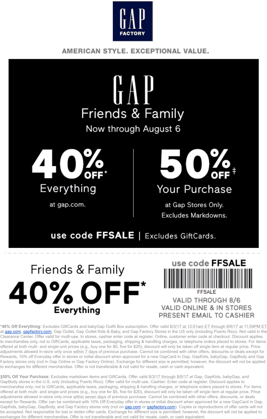 Gap Outlet Promo Code Online Shopping Has Never Been As Easy