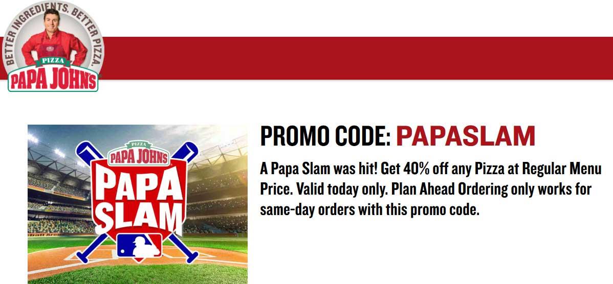 papa johns promo codes 2019 - 1198×556