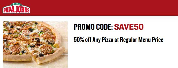 Other Papa John's Coupons for Fall: