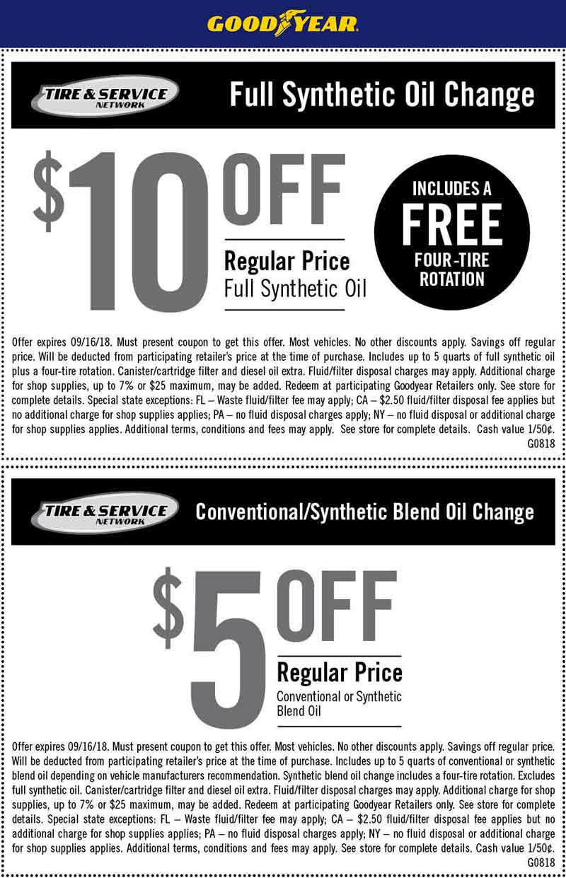 Goodyear coupons & promo code for [February 2020]