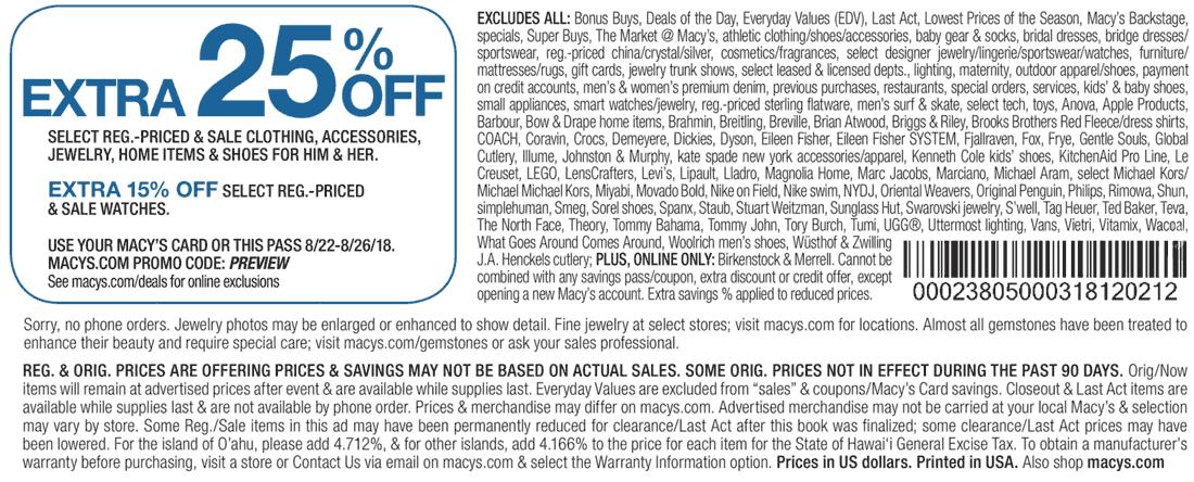 Macys coupons & promo code for [June 2020]