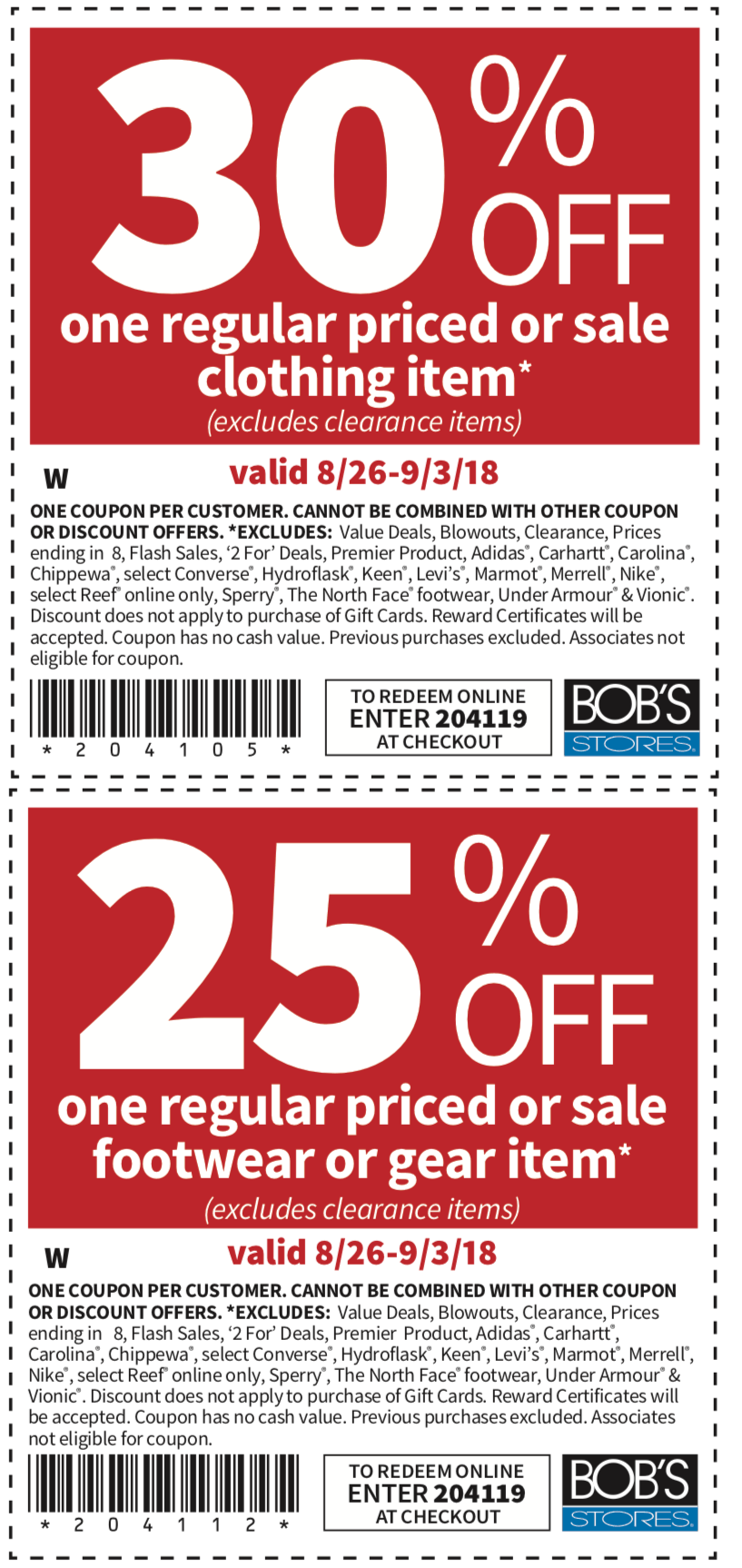 Bobs Stores coupons & promo code for [June 2020]