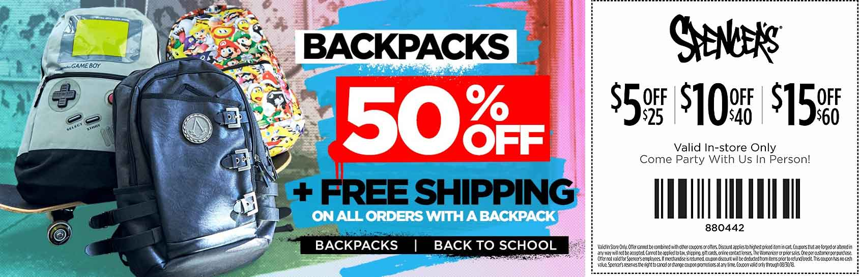 Spencers coupons & promo code for [June 2020]