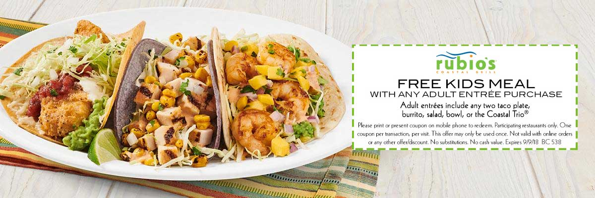Rubios coupons & promo code for [June 2020]