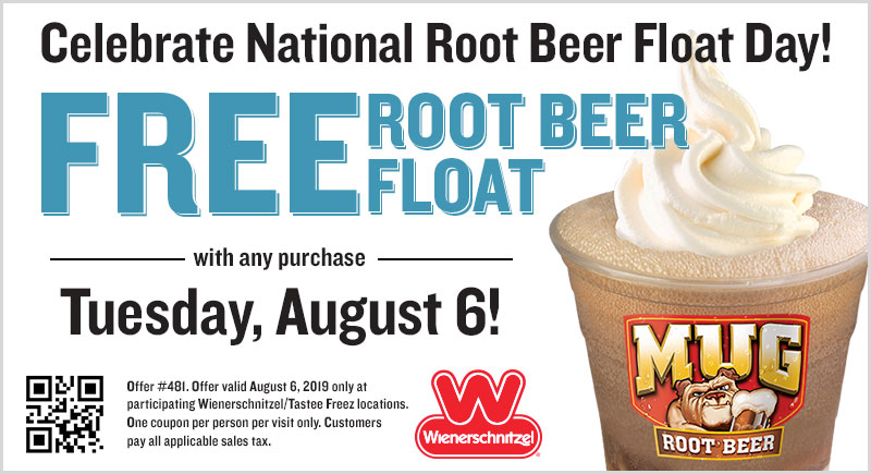 Wienerschnitzel Coupon January 2020 Free root beer float with your order today at Wienerschnitzel restaurants