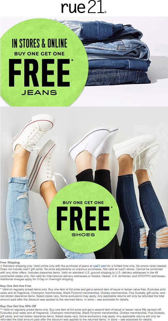 Rue21 coupons & promo code for [October 2020]