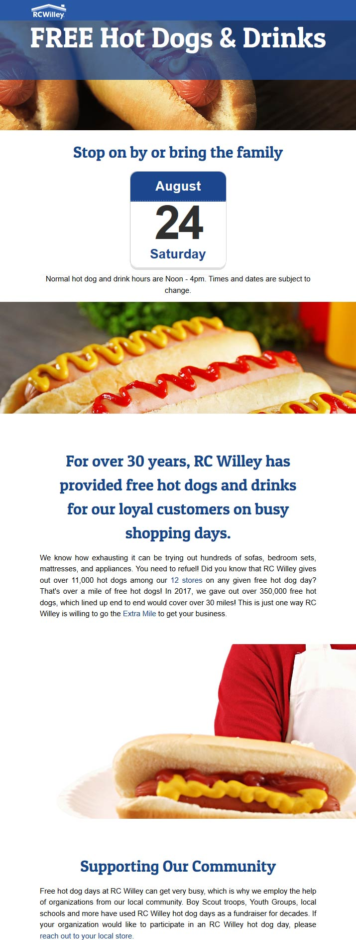 RC Willey coupons & promo code for [April 2020]
