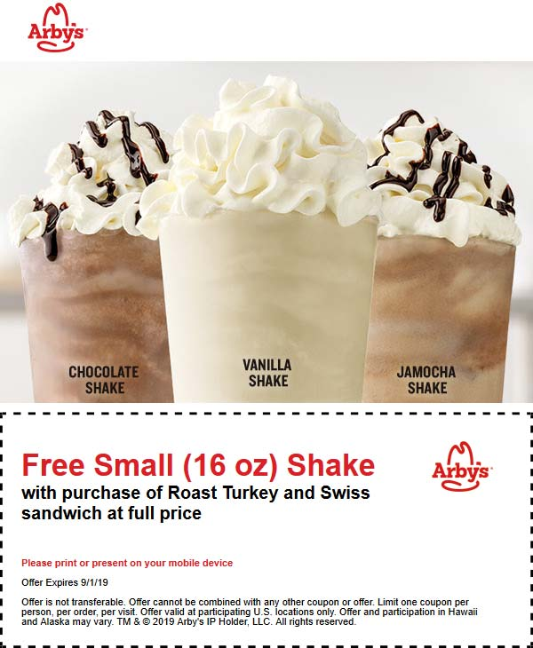 Arbys coupons & promo code for [April 2021]