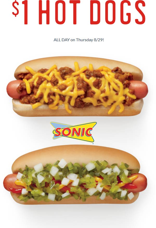 Sonic Drive-In coupons & promo code for [April 2020]