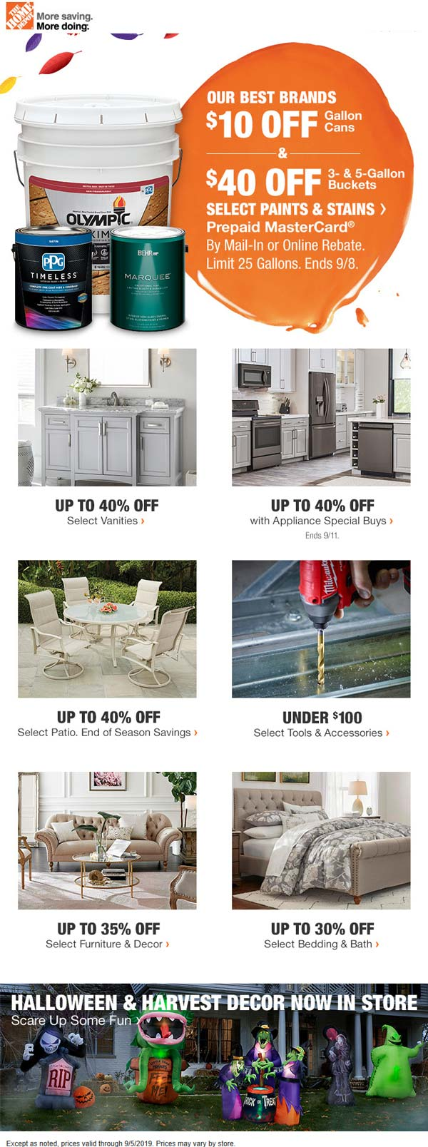 Home Depot coupons & promo code for [April 2020]