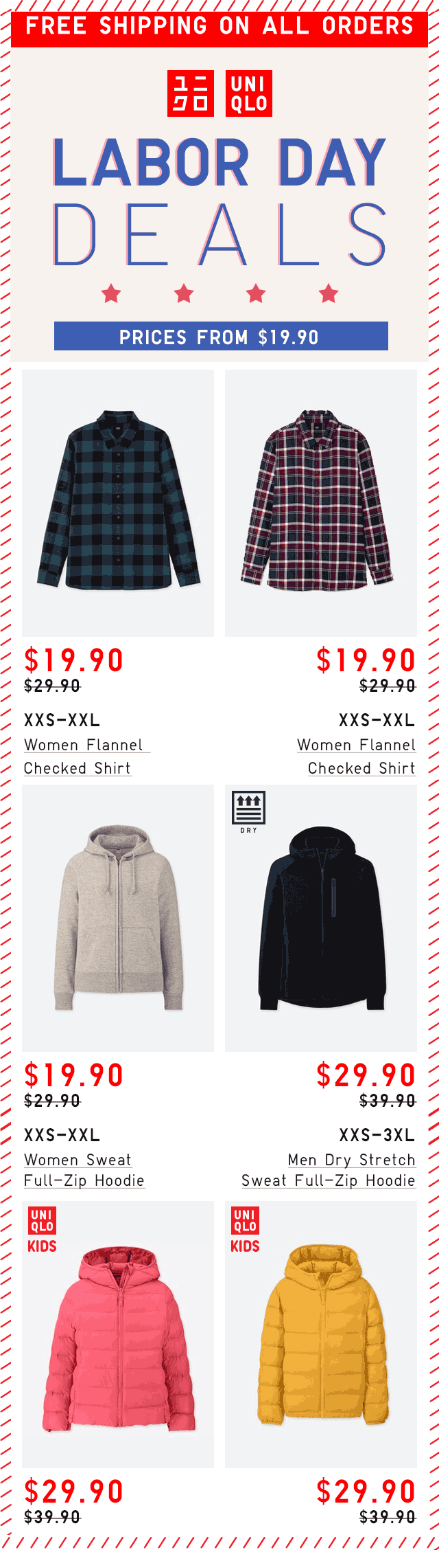 Uniqlo Coupon October 2019 $10 off sweaters & more at Uniqlo, ditto online