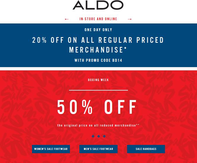 aldo coupons 2019
