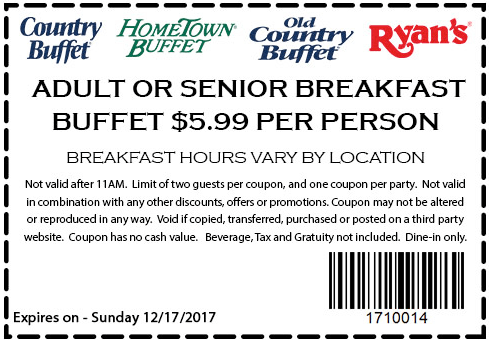 hometown buffet lunch coupons december 2019