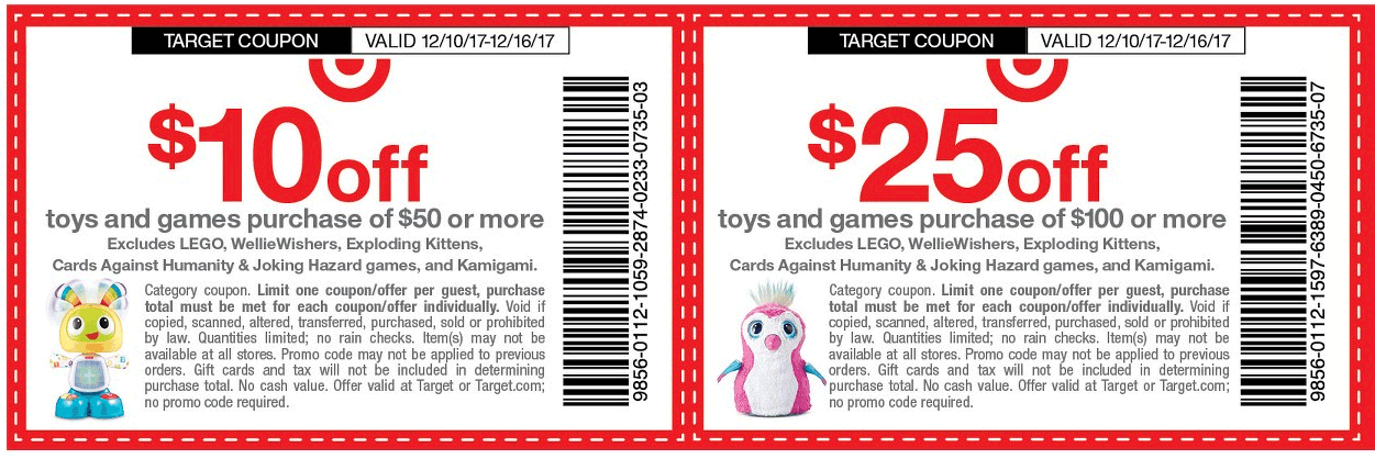 Target promo codes august 2019