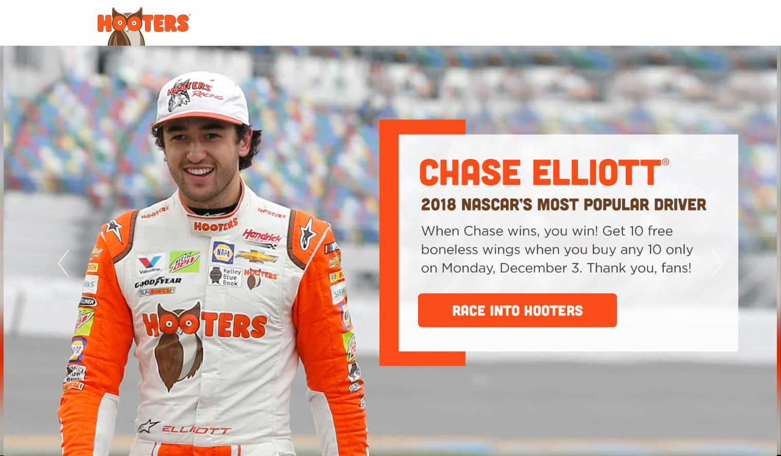 Hooters coupons & promo code for [April 2020]