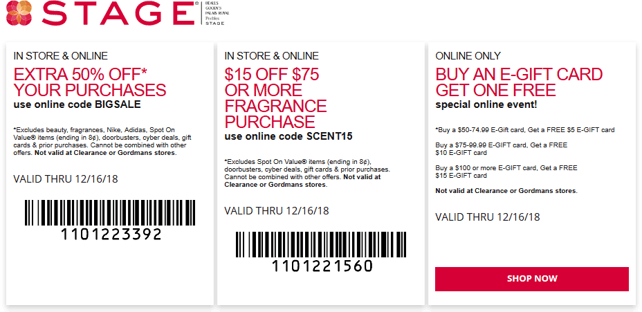 Stage coupons & promo code for [April 2020]