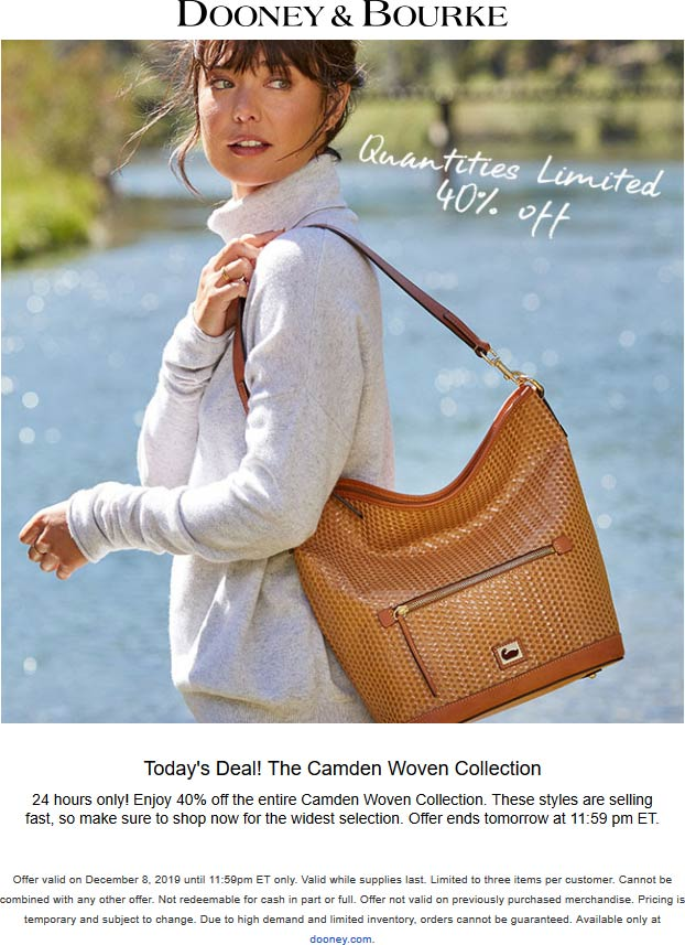 Dooney & Bourke coupons & promo code for [October 2020]