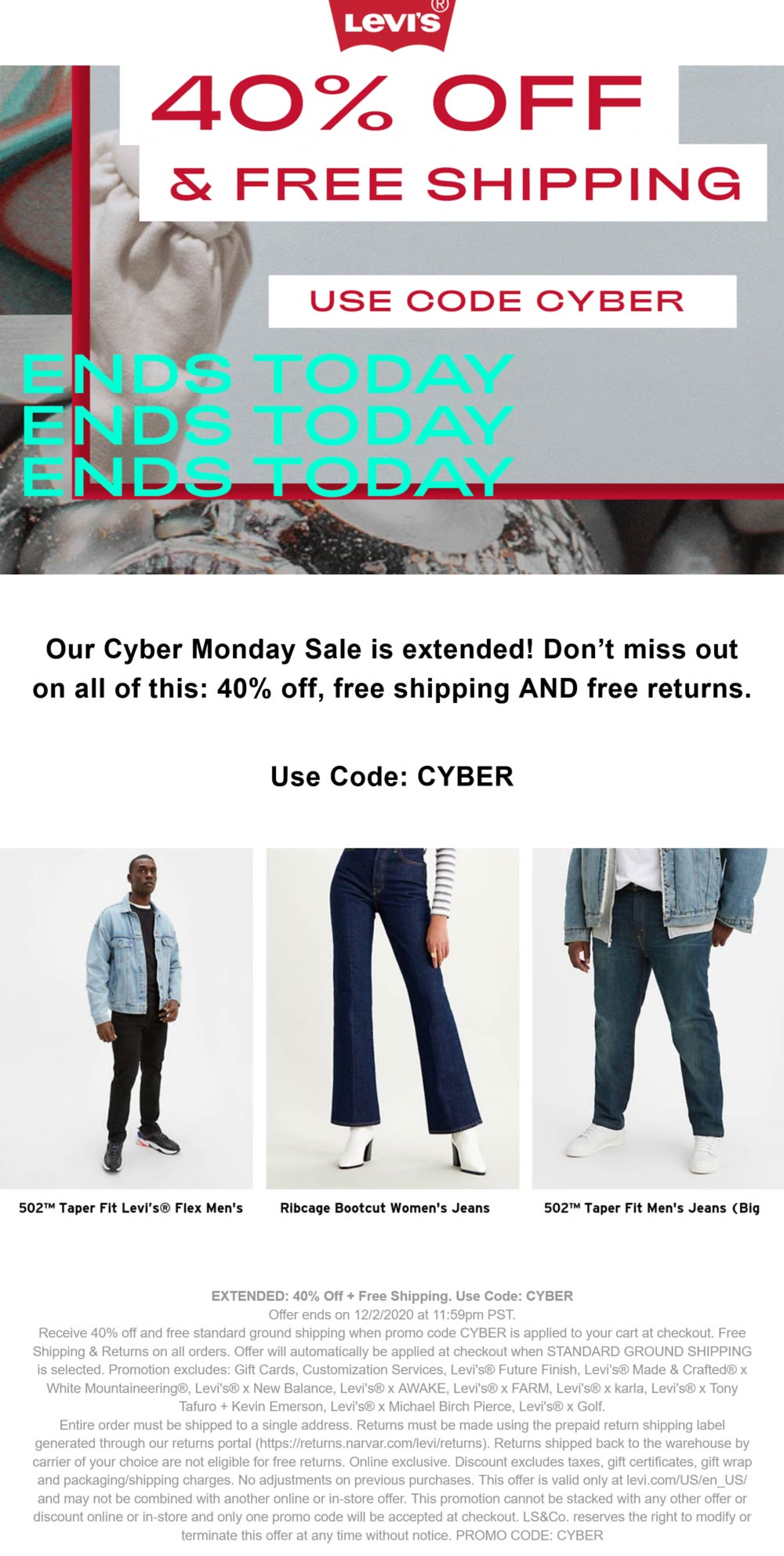Levis coupons & promo code for [January 2021]