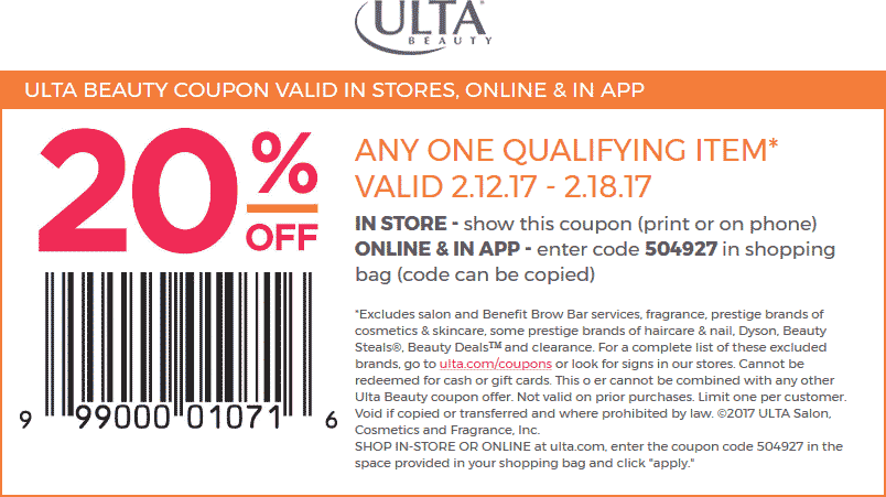 Recently Expired Ulta Coupons & Promo Codes