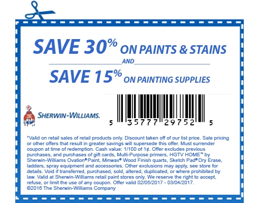 paint coupons 2019