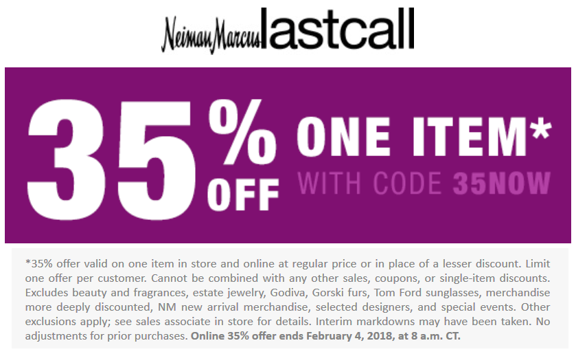 neiman marcus coupon