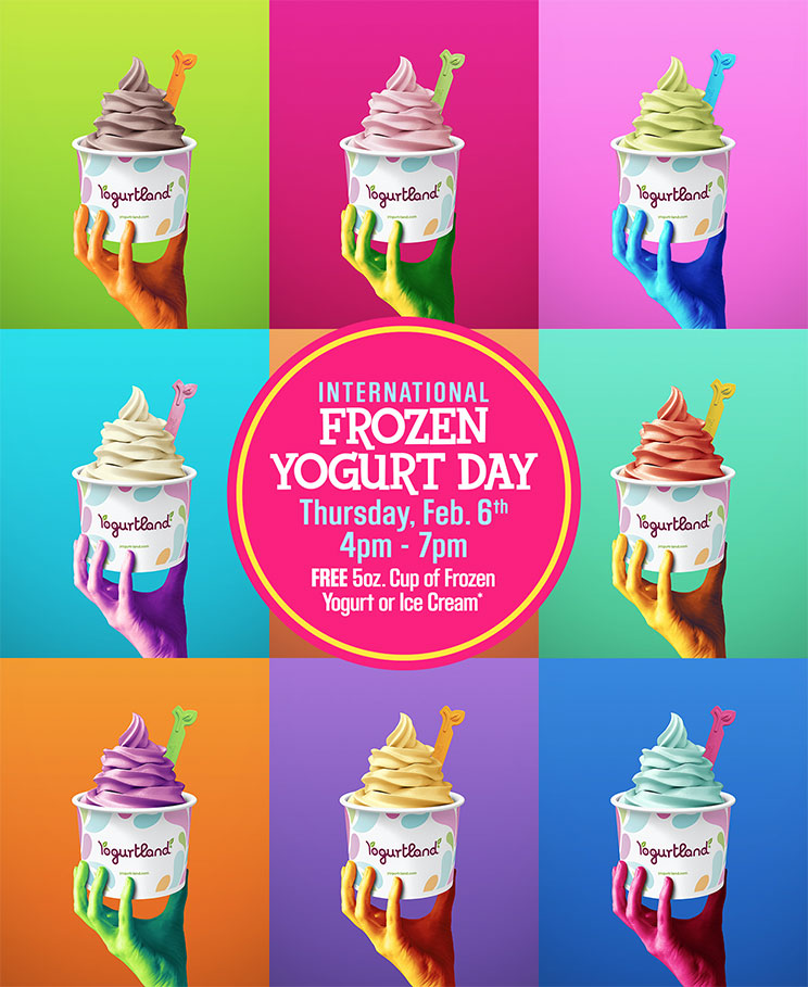 Yogurtland coupons & promo code for [April 2020]