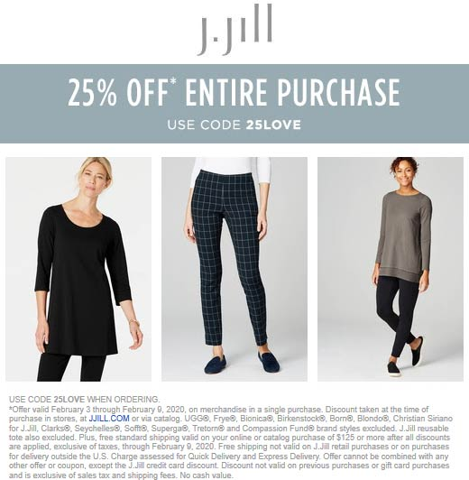 J.Jill coupons & promo code for [July 2020]