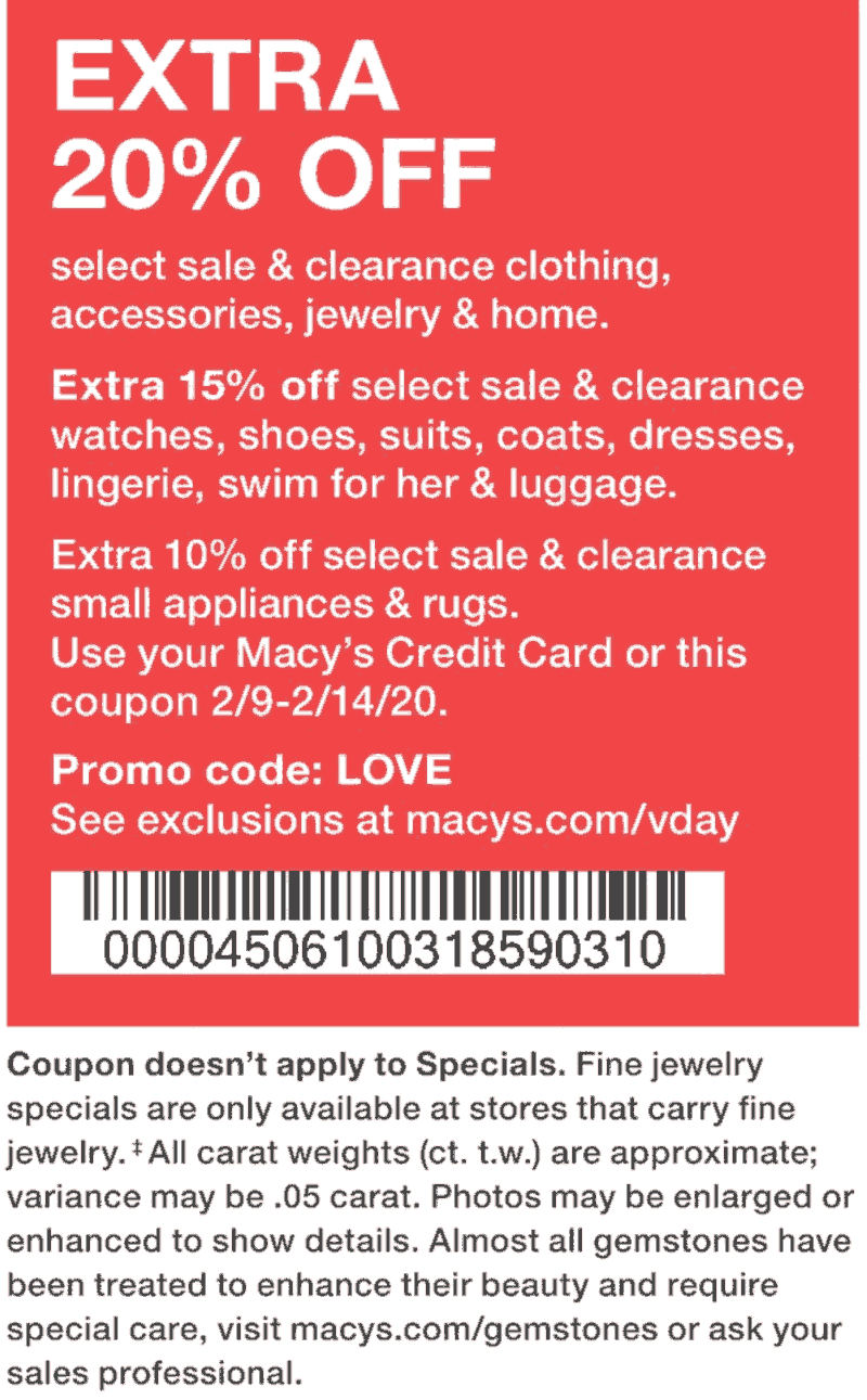 Macys coupons & promo code for [October 2020]
