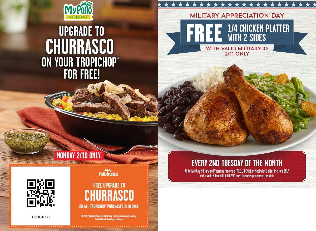 Pollo Tropical coupons & promo code for [July 2020]