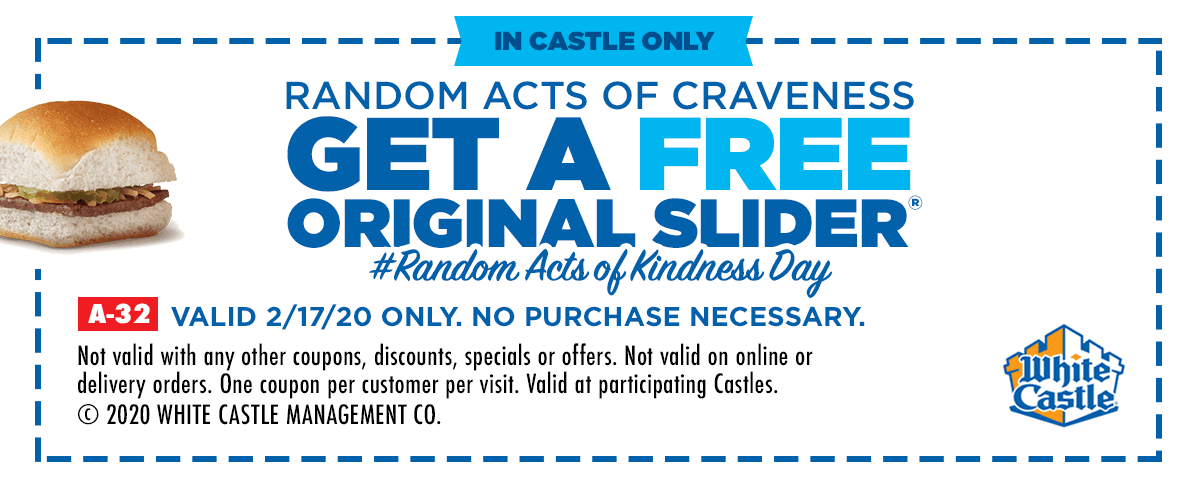 White Castle coupons & promo code for [September 2020]