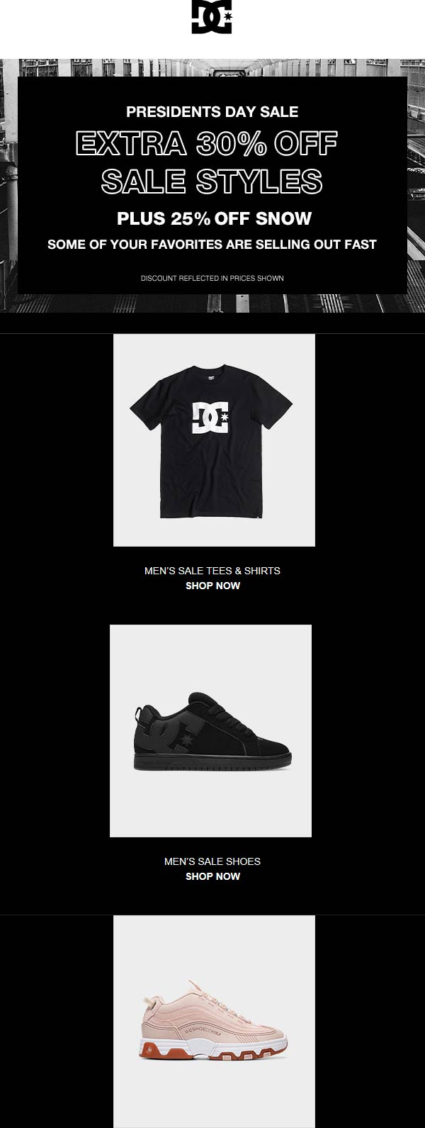 DC Shoes coupons & promo code for [May 2021]