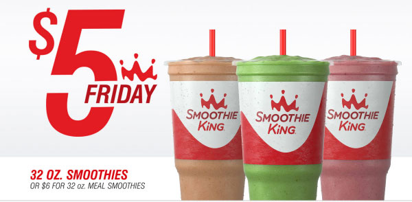 Smoothie King coupons & promo code for [February 2021]