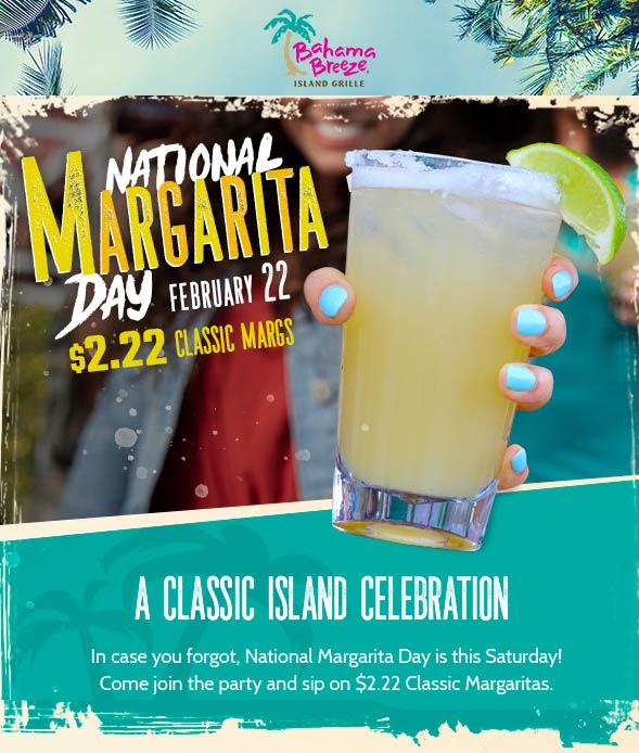 Bahama Breeze coupons & promo code for [January 2021]