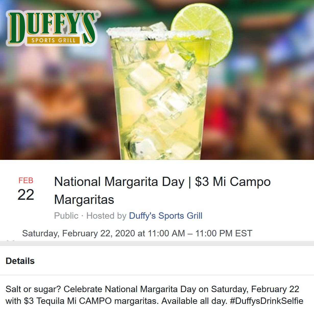 Duffys Sports Grill coupons & promo code for [October 2020]