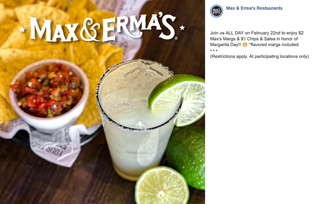 Max & Ermas coupons & promo code for [August 2020]