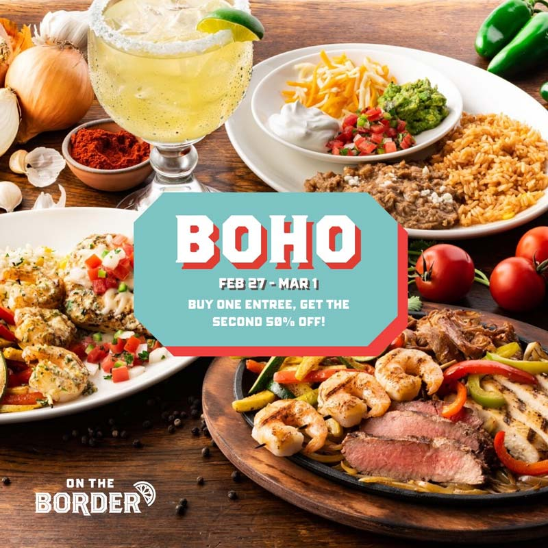 On The Border coupons & promo code for [September 2020]