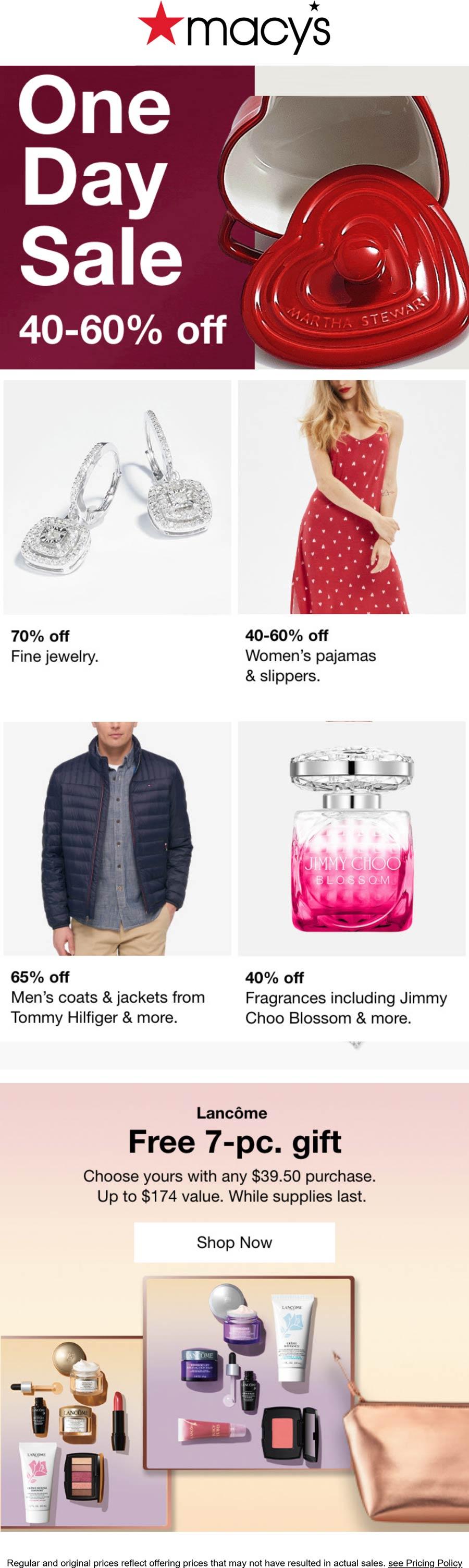 Macys stores Coupon  40-60% off going on at Macys #macys