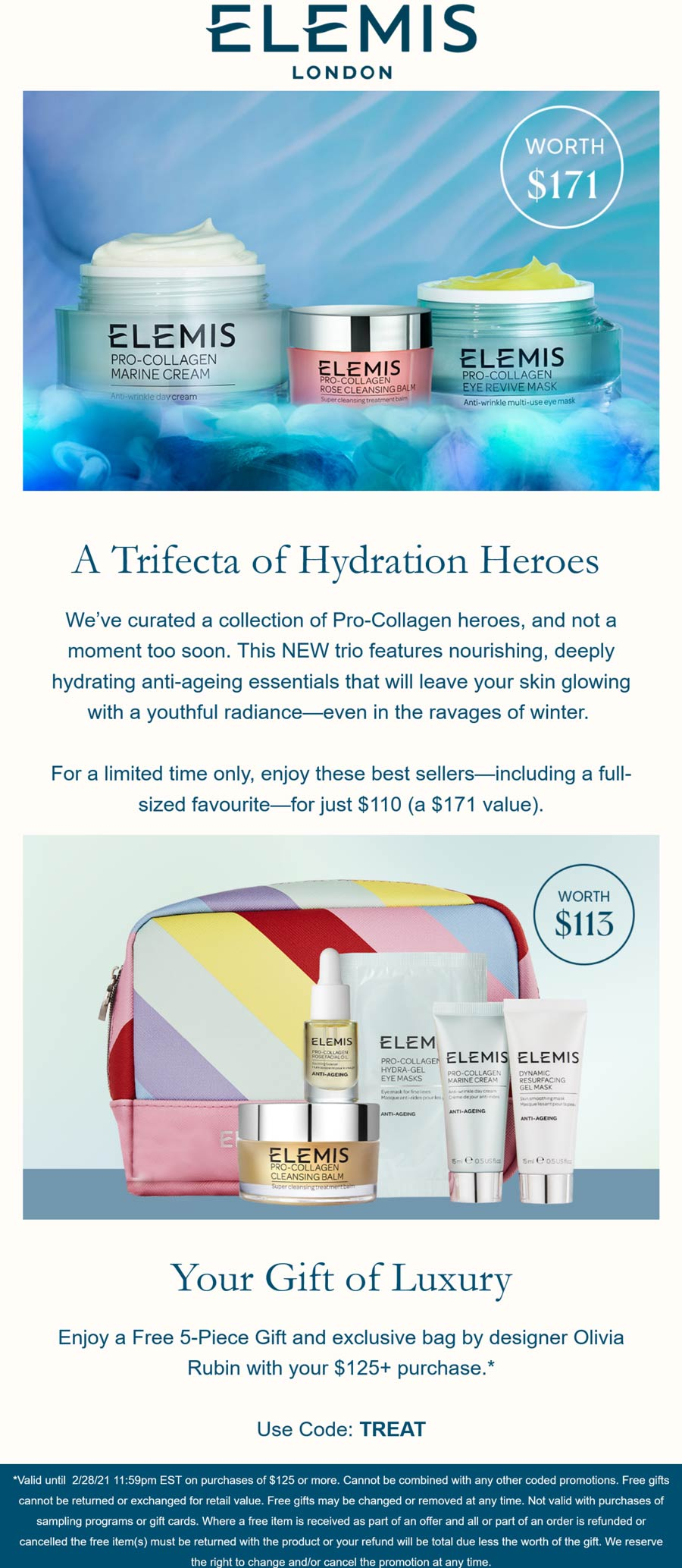 Elemis coupons & promo code for [April 2021]