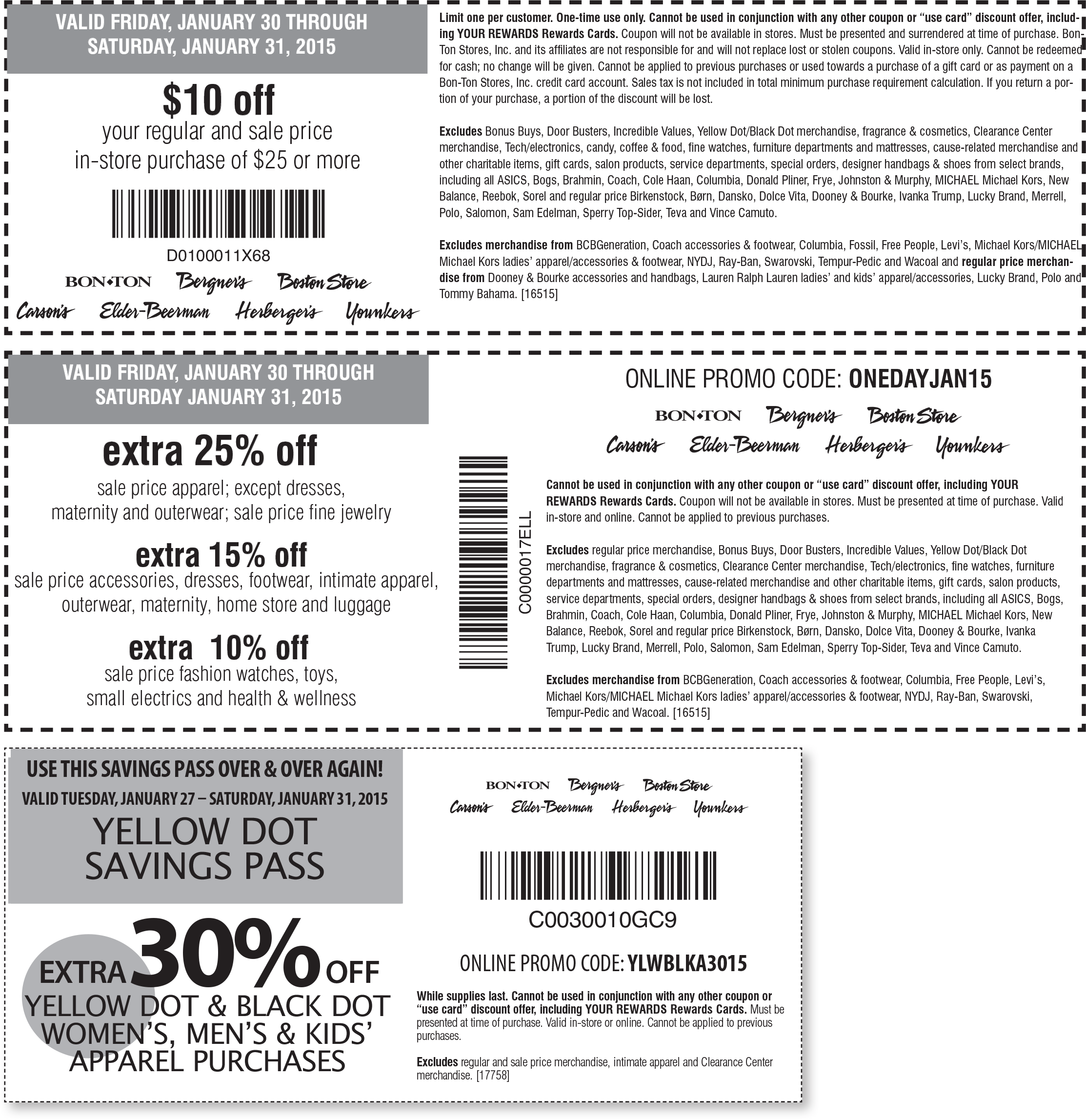 68 coupons, codes and deals