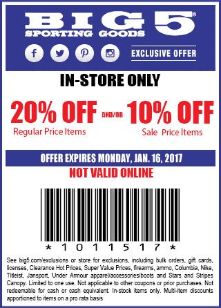 big 5 printable coupon