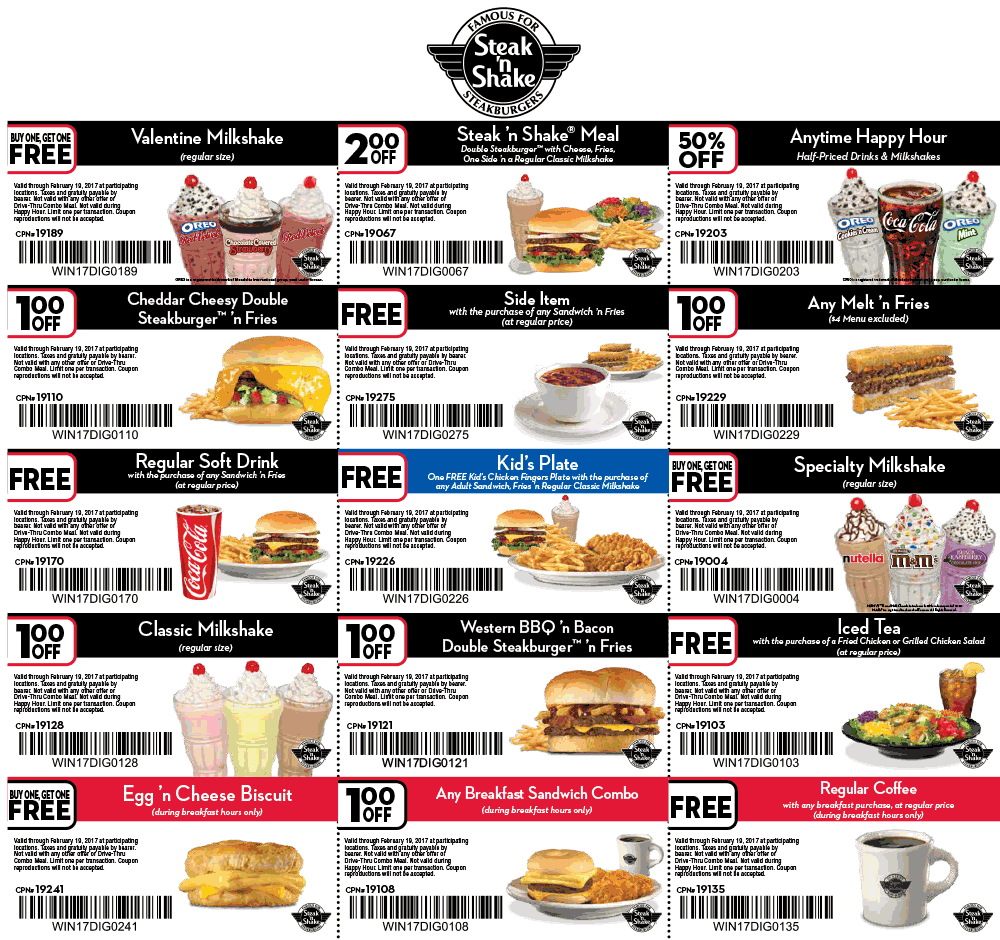 photograph about Steak and Shake Coupon Printable titled Coupon for steak and shake - Track down a pizza hut close to me