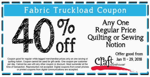 Craft Warehouse Coupons 40 Off A Single Item At Craft Warehouse