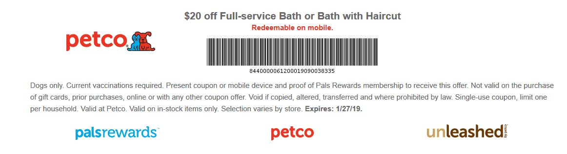 Petco coupons & promo code for [April 2021]