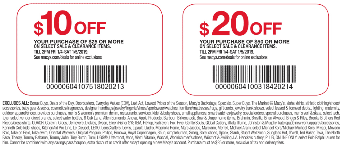 Macys coupons & promo code for [July 2021]