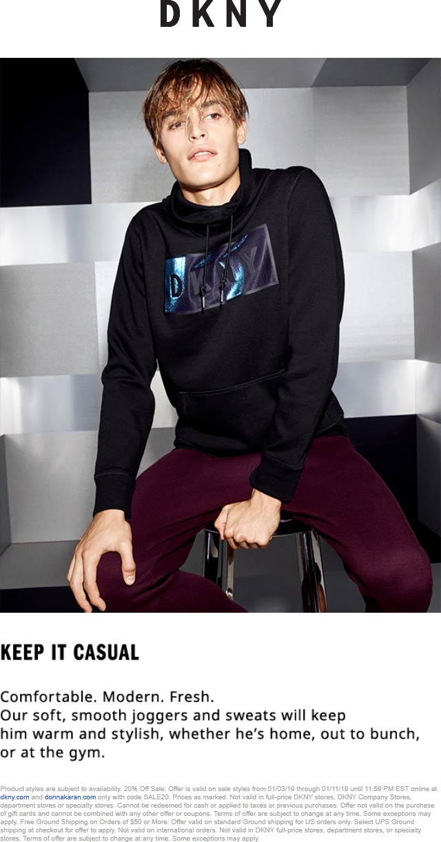 DKNY coupons & promo code for [March 2021]