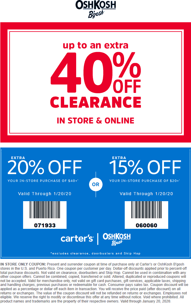 Carters coupons & promo code for [April 2021]