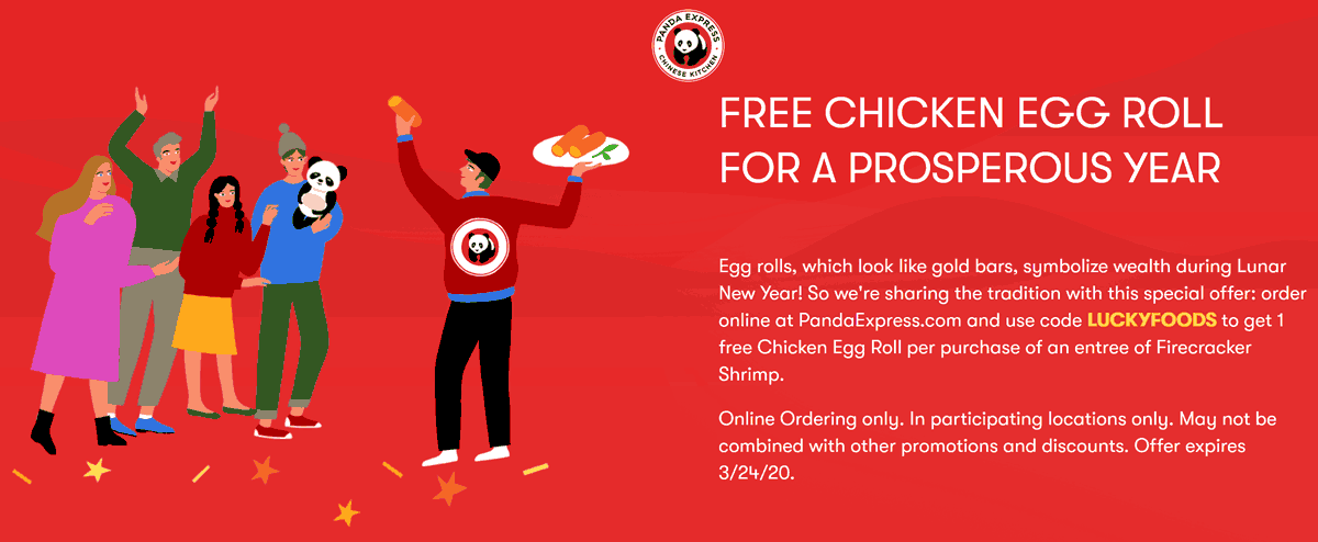 Panda Express coupons & promo code for [April 2021]