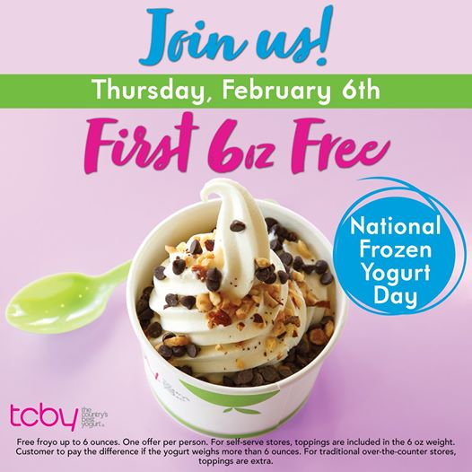 TCBY coupons & promo code for [July 2020]