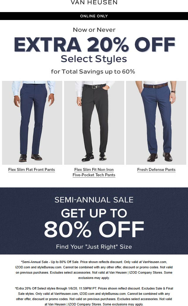 Van Heusen coupons & promo code for [April 2021]