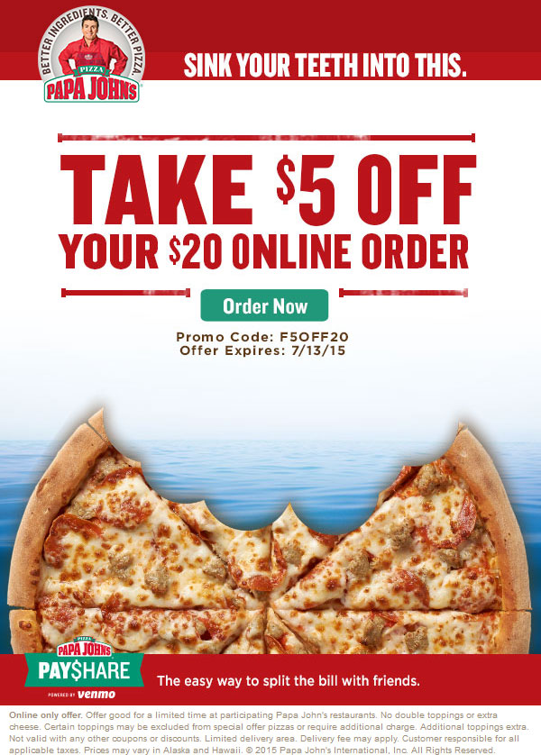 picture regarding Papa Johns Printable Coupons identified as Papa Johns promo code reddit ksu
